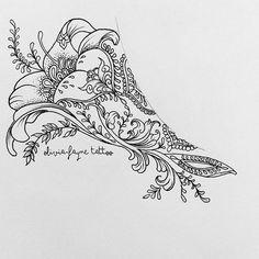 Tattoo Designer @oliviafaynetattoo Side boob piece f...Instagram photo | Websta (Webstagram)