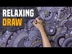 Watch this super relaxing drawing video. Full page speed drawing henna (mehndi). Listen the relaxing music and look how I fill the paper full of henna motive. Henna Mandala, Henna Mehndi, Henna Art, Hand Henna, Relaxing Music, Bullet Journal, Hands, Shoulder Bag, Drawings