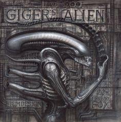 -B-406  Alienmonster I (Giger\'s Alien)2