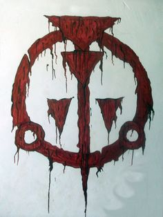 "Well im a big fan of ""Prince of persia"" so long time ago i deside to make a wall paiting on Warrior Withins logo. Warrior Within on The wall Prince Of Persia, Persian Warrior, Warrior Within, Occult Symbols, Warrior Tattoos, Gaming Wallpapers, Runes, Medieval, Destruction"