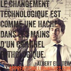 Citation Albert Einstein - http://apprentismillionnaires.com/citations-fond-ecran/citation-albert-einstein-3/