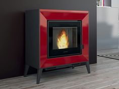 Pellet stove LINE Pellet stoves Collection by Piazzetta