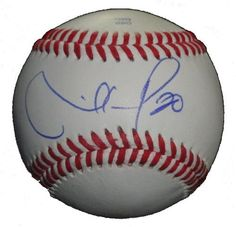 Seattle Mariners Mike Carp Autographed ROLB Baseball, Proof Photo by Southwestconnection-Memorabilia. $44.99. This is a Mike Carp autographed Rawlings official league baseball. Mike signed the ball in blue ballpoint pen. Check out the photo of Mike signing for us. Proof photo is included for free with purchase. Please click on images to enlarge.