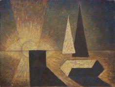 FRANTIŠEK HUDEČEK (1909–1990)  JITRO TVARŮ   cena: 950 000 CZK (36 412 EUR) Prague, Civilization, Surrealism, Urban, Illustration, Artist, Painting, Archive, Illustrations