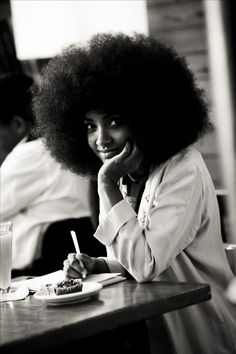 Esperanza Spalding. This hair!