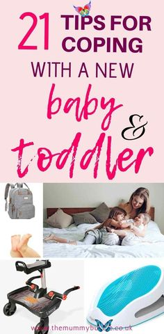 21 ways to manage the transition from one to two kids - The Mummy Bubble 21 tips for coping with a new baby and a toddler - hacks and products that will help make the early months with two under two easier for new parents. #parentinghacks #baby #toddler #babyhacks<br> Making the transition from one to two kids is a bit of a double-edged sword. On the one hand, you've got experience the second time around so you won't feel... Gentle Parenting, Parenting Advice, Kids And Parenting, Second Baby, First Baby, Second Pregnancy, Pregnancy Tips, New Parents, New Moms