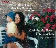 In this show I had the extreme privilege to speak with Krista Vance, author of Meet Jamie Now:  A Life Free of Autism.   Krista has an amazing personality and the desire to share her love and knowledge in an effort to help others. \ trayerwilderness.com