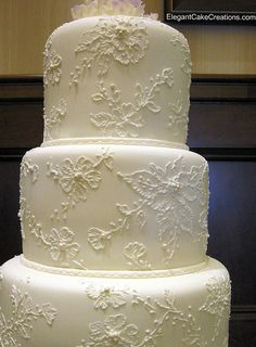 Effects on health The health impact of vegetarian nutrition depends on careful and disciplined programming. It can be harmful to … Beautiful Wedding Cakes, Beautiful Cakes, Beautiful Beautiful, Amazing Cakes, Elegant Wedding, Lace Wedding, Dream Wedding, Brush Embroidery, Vegan Wedding Cake