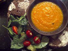 Moroccan Carrot Soup recipe.