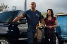 Alexandra Daddario Dwayne Johnson San Andreas (movie review)