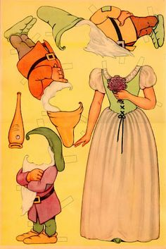 paper dolls~snow white - Bonnie Jones - Picasa Web Albums