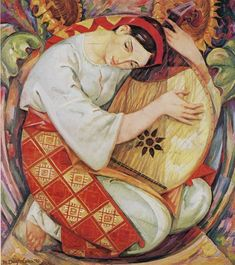 "Check out ""GloBeat Russian & Ukrainian Music"" by Joseph Gueron on Mixcloud Art And Illustration, Musik Illustration, Folk Art Flowers, Art Studio Design, Ukrainian Art, Surrealism Painting, Russian Art, Love Art, Painting Inspiration"