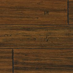 5.39-in W Prefinished Bamboo Hardwood Flooring (Antique Carbonized)