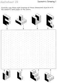 Isometric drawing worksheet Image | drawings - technology ...