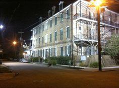 Mardi Gras is just around the corner.  La Belle Esplanade Bed and Breakfast: Around the corner in New Orleans
