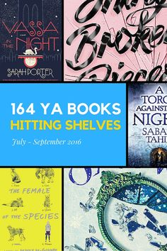164 YA Books for You
