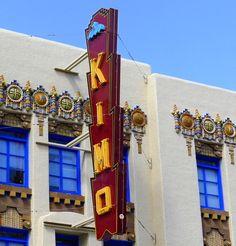 Pueblo Art Deco KiMo Theater (1927), Albuquerque, New Mexico