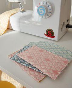 Nouvelle collection Printemps-Été 2017 : #Origami #déco #maison #décoration #tendance #scandi #pastel #couture #diy #doityourself #sewing #fabrics #tissu #couture