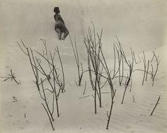 [Maudelle on dunes]; Edward Weston (American, 1886 - 1958); 1939; Gelatin silver…