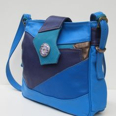 RESERVED FOR Barbara Saracino  Satchel-Shoulder Bag-Purse-Ocean Current #handbags #purse #cute #pretty
