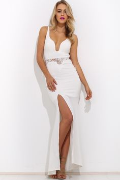 Fire And Flood Maxi Dress, $65 + Free express shipping http://www.hellomollyfashion.com/fire-and-flood-maxi-dress-white.html