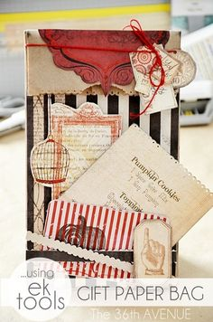 DIY Gift or Treat Bag by the36thavenue.com