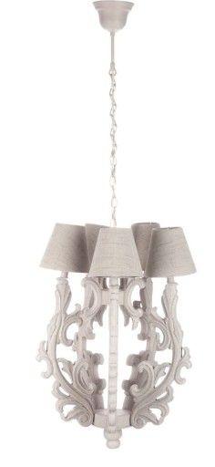 Zyrandol Prowansalski Drewniany Wysylka Gratis 7195968412 Allegro Pl Wiecej Niz Aukcje Ceiling Lights Chandelier Light
