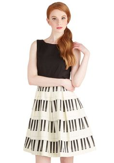 Me, Myself, and Ivories Dress, #ModCloth