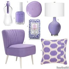 Color Obsession of the Week: Lavender  - HouseBeautiful.com