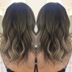 "Vancouver. Burnaby Hairstylist on Instagram: ""Balayage work on short hair """
