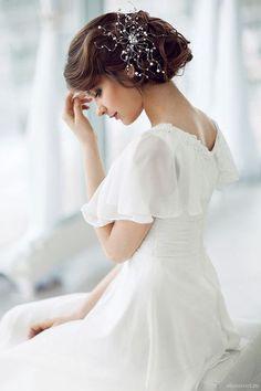 Abstract Bridal Headpiece