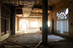 Abandoned hotels in Tunisia Abandoned, Hotels, Home Decor, Sousse, Left Out, Decoration Home, Room Decor, Home Interior Design, Ruin