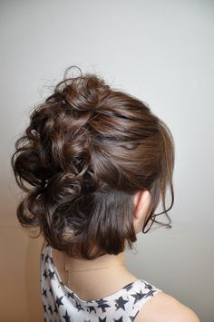 Hair by 美容室 Gimick 北千住店 .  Half updo