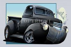 Cartoons Pickup Trucks   eBay Motors > Parts & Accessories > Apparel & Merchandise > Other ...