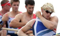 Great Britain's lightweight men's rowing four team, Chris Bartley, Richard Chambers, Rob Williams and Peter Chambers