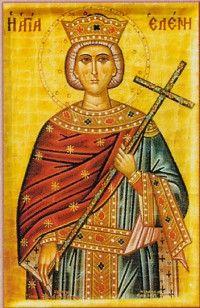 "Saint Helena -- Patron Saint of ""dirt digging"" Archeologists"