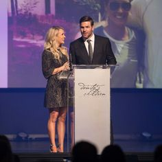 Carrie and mike helped raise money for children in Haiti!