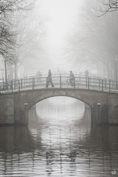 'Misty Amsterdam Morning' by fan Yat Ho Tsang