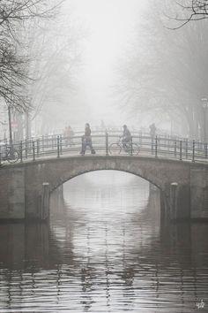 'Misty Amsterdam Morning' by fan Yat Ho Tsang