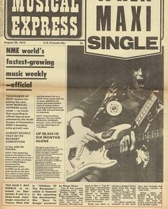 August 1972 New Single Announcement Marc Bolan, New Readers, The Godfather, Glam Rock, Poet, Announcement, Musicals, Stars, Instagram Posts