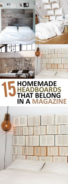 15 Homemade Headboards That Belong In A Magazine (1)