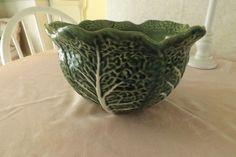 """10"""" Bordallo Phineiro Cabbage Leaf Bowl"""