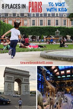 8 Places in Paris to Visit with Kids | Travel Cook Tell