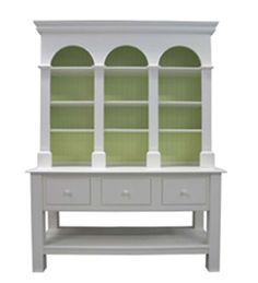 Drayton Hall Hutch available @ CoachBarn.com in Oyster Roast and Palm #coachbarn #furniture