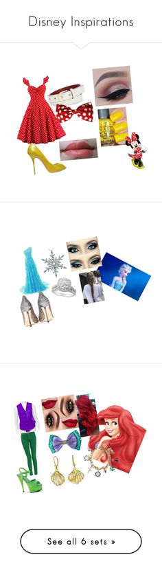 """Disney Inspirations"" by phoenixablaze05 on Polyvore featuring Calvin Klein, Casadei, Disney, Jimmy Choo, Helmut Lang, Pleaser, Monsoon, Bling Jewelry, beauty and River Island"