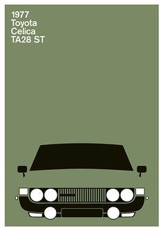1977 Toyota Celica by Julian Montague