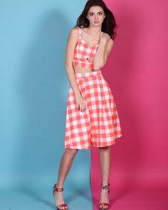 We love a matching set for summer  http://www.stylerevel.com/store/check-mate-skirt/dp/9353