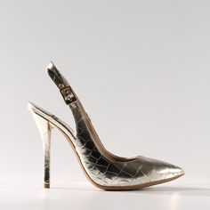 Scarpe eleganti - D�collet� pelle metallica gioiello Baldan - DidìLeFou