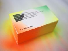 IS Creative Studio / business cards 4rd edition by IS Creative Studio., via Behance