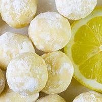 White Chocolate Lemon Truffles - OMG Chocolate Desserts